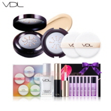 VDL Expert Metal Cushion Foundation Puff Set [Monthly Limited -July 2018]